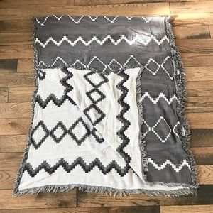 Accessories - Huge Chevron Blanket Scarf